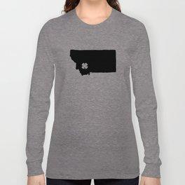 Shamrock City, Montana  Long Sleeve T-shirt