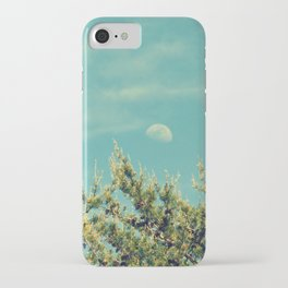Day Moon Sky iPhone Case
