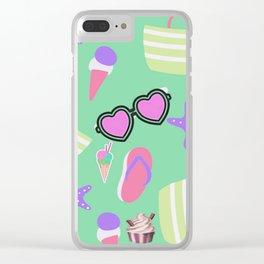 Summer Fun VB Clear iPhone Case