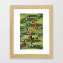 """Tamarillo"" by ICA PAVON Framed Art Print"