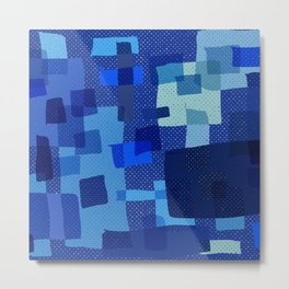 I'm Blue Metal Print
