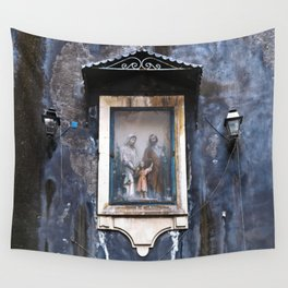 Sicilian Facade of CATANIA Wall Tapestry