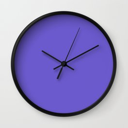 Slate Blue Wall Clock