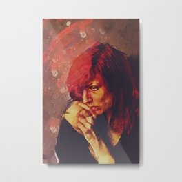Afterimage Metal Print
