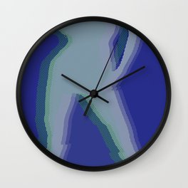 Peace Woman Wall Clock