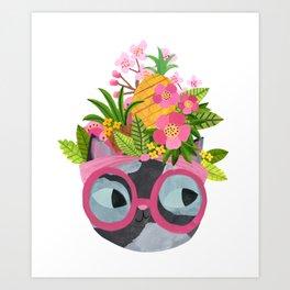 Carmen Meow-randa Art Print