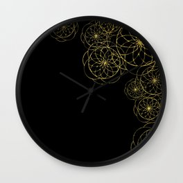 almost floral Wall Clock