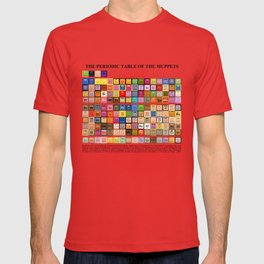 The Periodic Table of the Muppets T-shirt