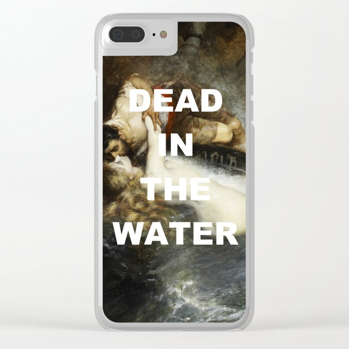 I Can't Kiss Clear iPhone Case