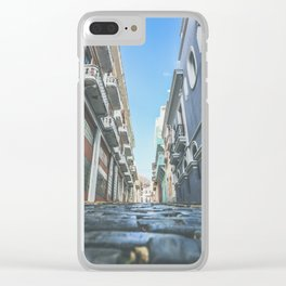 Puerto Rico Streets Clear iPhone Case