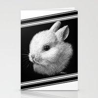 bunny Stationery Cards featuring Bunny by Creadoorm