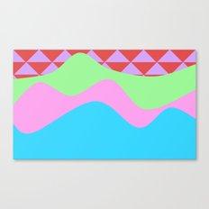 Tribal Waves Canvas Print