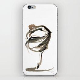 Ballet Dance Drawing iPhone Skin