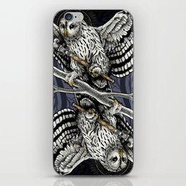 Owl Deck: Queen of Clubs iPhone Skin