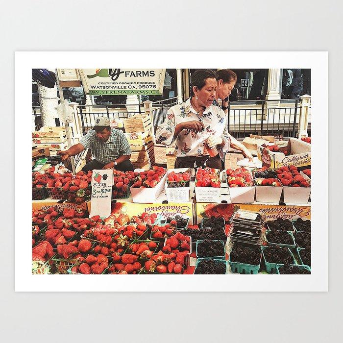 Fruit Day Art Print