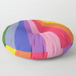 Technikolor Floor Pillow