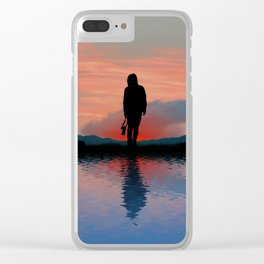 Its Time To Home Clear iPhone Case