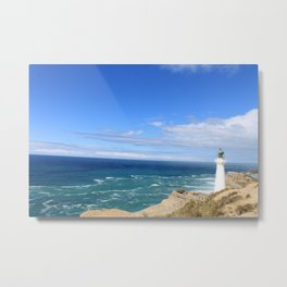 New Zeland lighthouse Metal Print