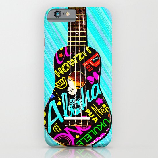 Hawaiian Ukulele for IPhone iPhone & iPod Case
