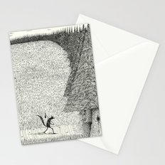 'The Field By The Forest' Stationery Cards
