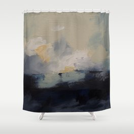 Storm over Georgian Bay Shower Curtain