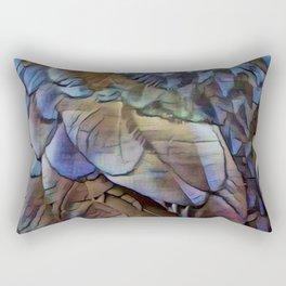 Raven Feathers II Rectangular Pillow