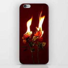 A Destructive Love iPhone Skin