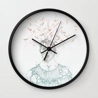 data Wall Clocks featuring Data Fragmentation  by miguel ministro