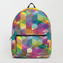 Spring Geometric Backpack