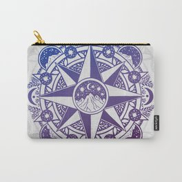 Journey to Moon Mountain | Ultra Violet Ombré Carry-All Pouch