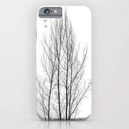 Naked Tree iPhone Case
