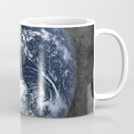 Giant Earth Poster, Planet Earth Art Print, Square Planet Earth Print, Earth Art Print, Planet Earth, Outer Space Earth Poster, Earth Print Coffee Mug