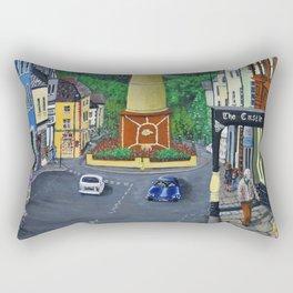 Tredegar Town Clock Rectangular Pillow