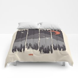 Winter Mountain Weather... Comforters