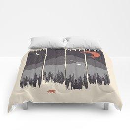 Winter Mountain Weather... Comforters