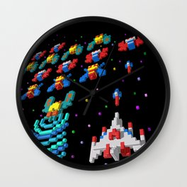 Inside Galaga Wall Clock