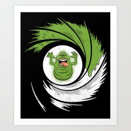 The Spud Who Slimed Me Art Print