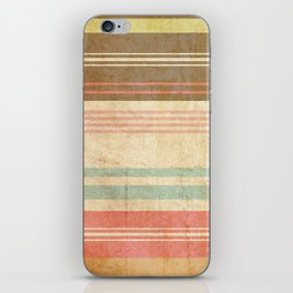 pattern grundgy stripes iPhone Skin