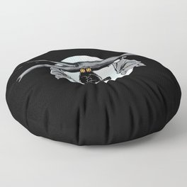 Cute Owl With Friends Floor Pillow