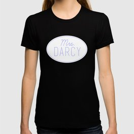 Mrs. Darcy - Baby Blue T-shirt