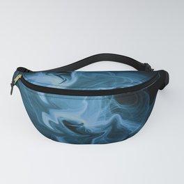 Blue Universe Fractal Art Fanny Pack