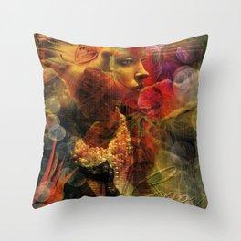 Italian Stunner Throw Pillow