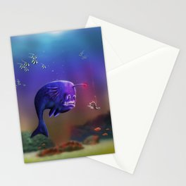 Fish hook Stationery Cards