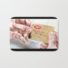 Ralph's Club Card Bath Mat