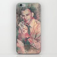 frank sinatra iPhone & iPod Skins featuring Frank Sinatra by Nechifor Ionut