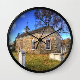 Old Dutch Church Of Sleepy Hollow Wall Clock