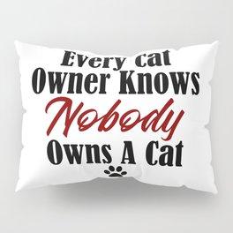 Funny Cat Evil Kitty Master Meow Kitten Pet Whisperer Pillow Sham