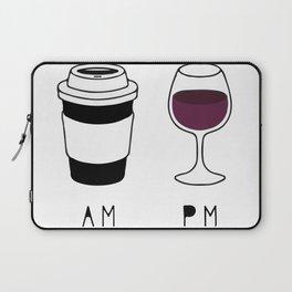 Coffee and Wine Laptop Sleeve