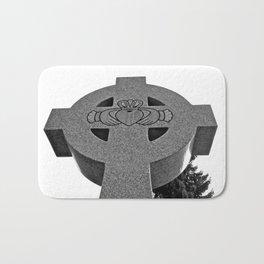 Celtic Cross and Claddagh Bath Mat