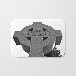 Celtic Cross and Claddagh Bath Mat